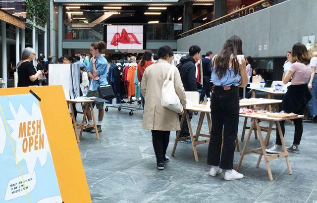 Mesh market bringing students work to life
