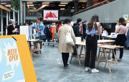 Mesh market bringing students work to life