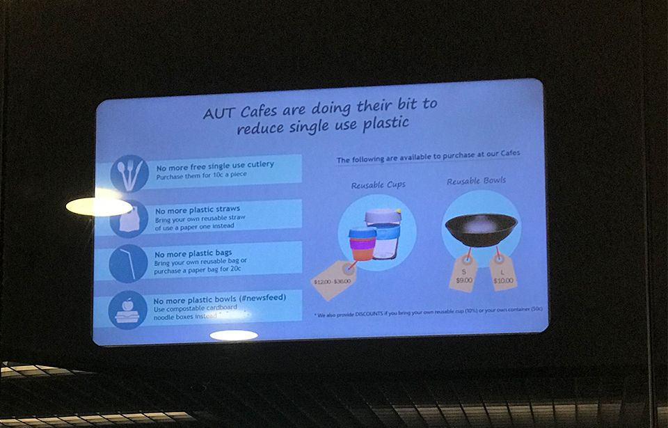 AUT students produce 31 kg of waste each per year