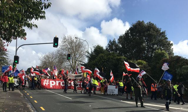 Activists walk for six hours, calling on PM to visit Ihumātao
