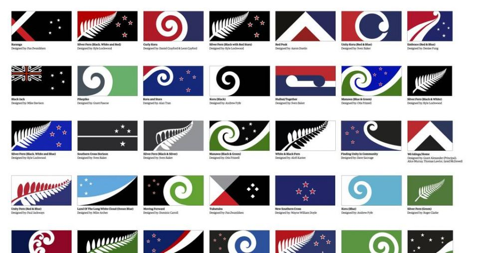 'Lucky' designer lands two designs in top 40 flag list