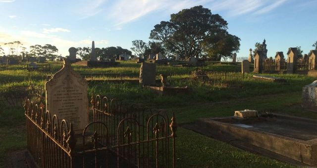 Cemetery competing with housing for land