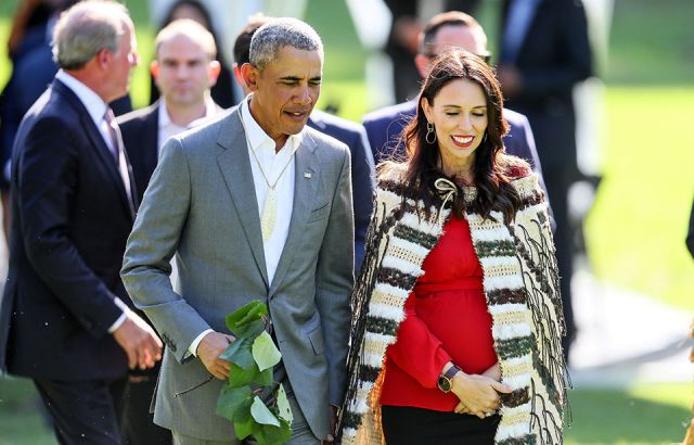 Climate change and youth issues dominate Ardern's meeting with Obama
