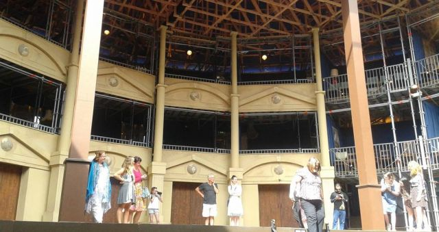 Pop-up Globe director discusses theatre's challenges