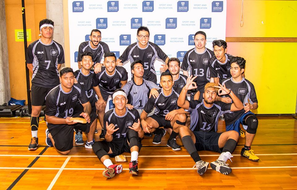 AUT volleyball team aiming for national men's title