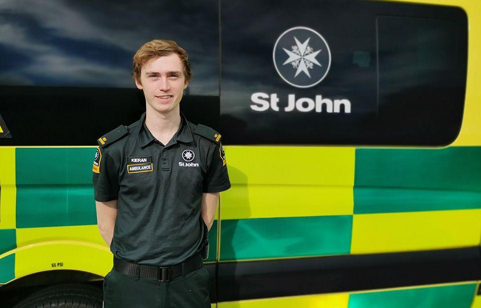 On the frontline as a St John volunteer