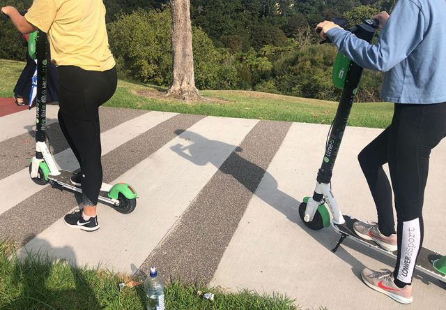 Elderly community worried about e-scooters - new or old wave