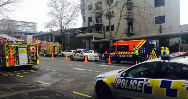 Chemical incident at Auckland hotel leaves accused man dead