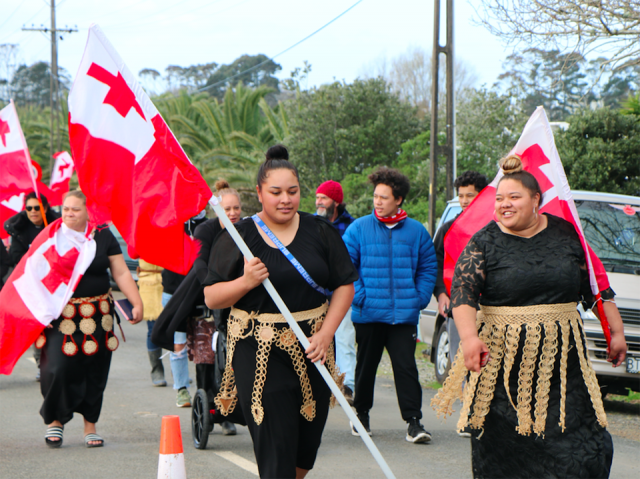 "Tongans bring ""love and support"" to stand with Ihumātao"