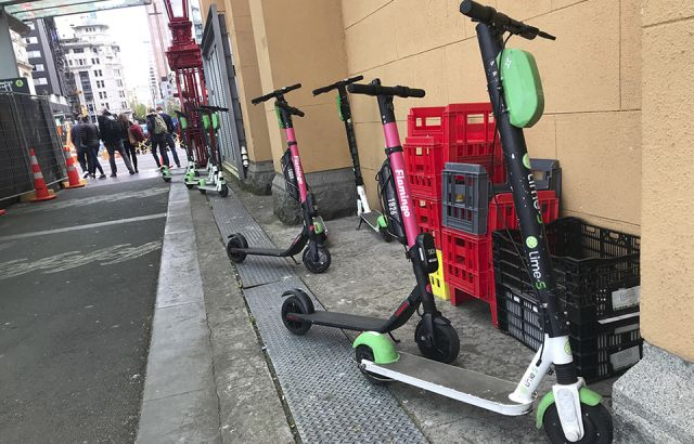 Profit-making scooters get priority over the homeless of Auckland