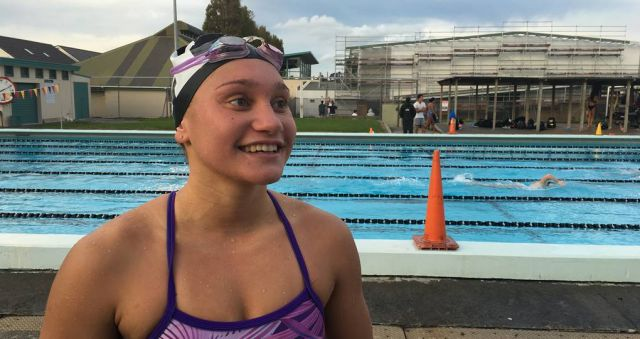 Young Auckland swimmer well on her way to 2020 Olympics