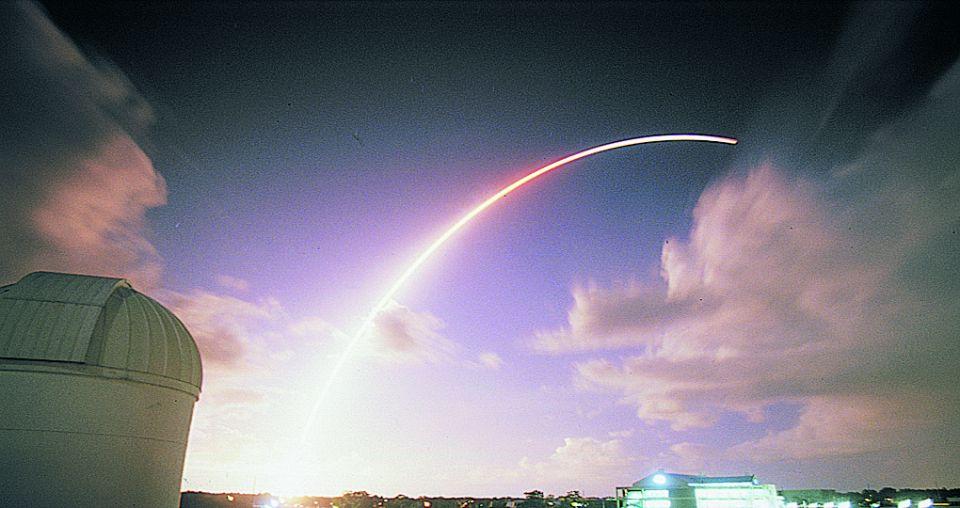 Saturn spacecraft's final goodbye
